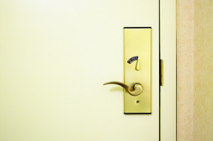Security of Locked Door